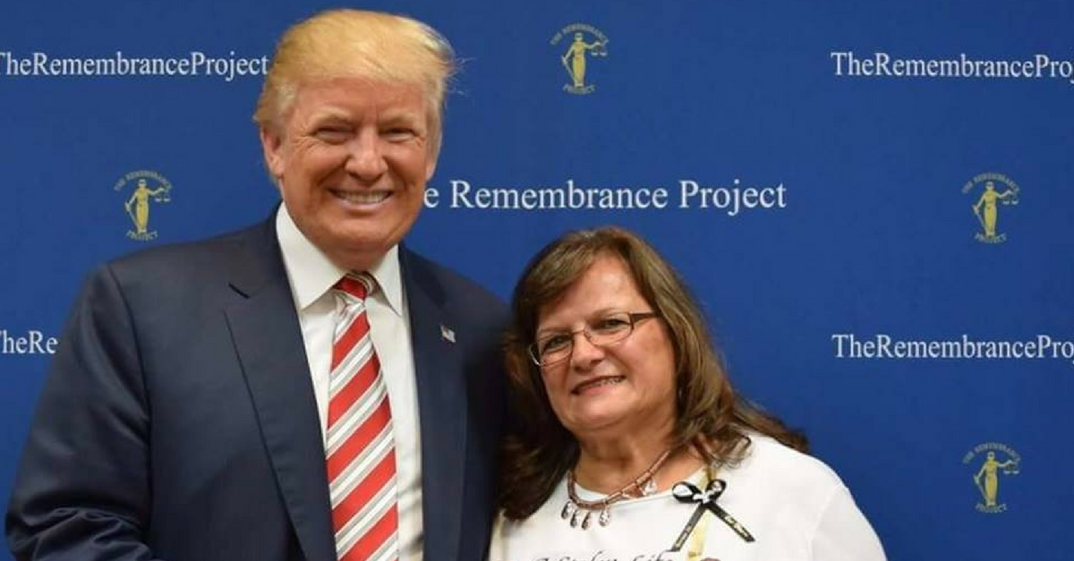 A mother whose son was killed by an undocumented immigrant says she's ready to personally help build the wall