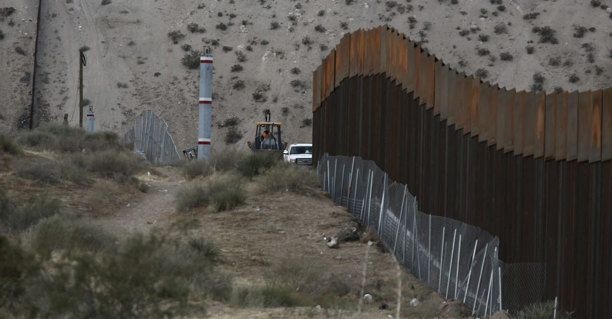 The federal government is stealing Americans' land to build Trump's border wall