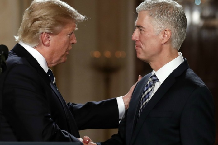 President Trump responds to claims that Judge Gorsuch disagrees with him, but people think his argument has holes