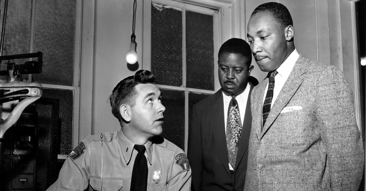 When MLK wanted to protect his family from terrorists, he was denied his Second Amendment rights