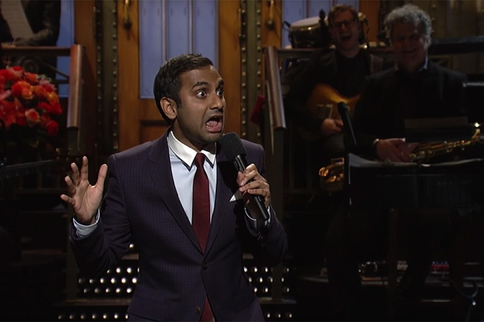 "Aziz Ansari Explains How Donald Trump is Like Chris Brown in His First ""SNL"" Monologue"