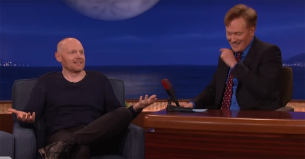 New parent Bill Burr talks with Conan about how he hates parents
