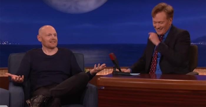 New parent Bill Burr talks with Conan about how he hates parents