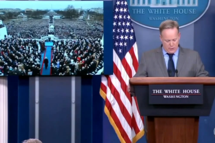 Jimmy Kimmel slowed down Sean Spicer's press conference to drunk-speed and it all makes sense now