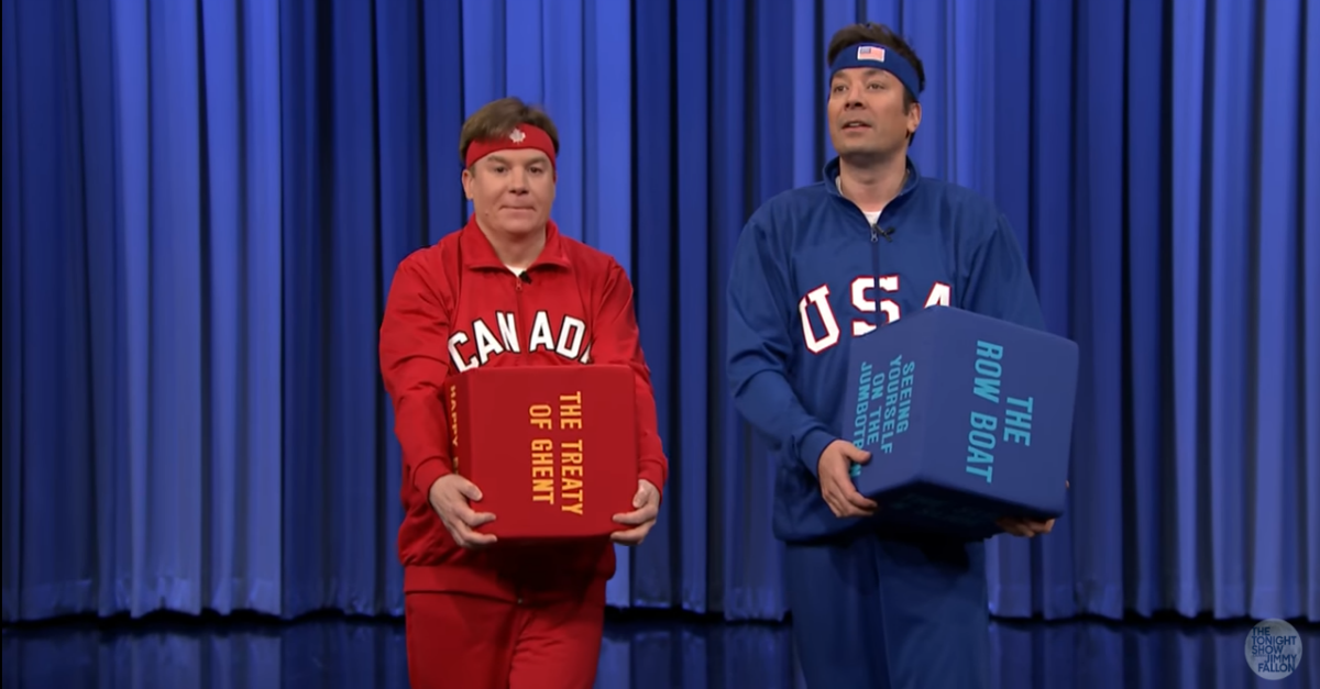 Mike Myers and Jimmy Fallon went head to head in a dance-off that brought down the house
