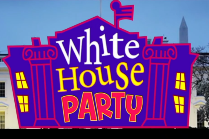 "Jimmy Kimmel shows a hilarious trailer for ""White House Party"" and we wish this was a real thing"