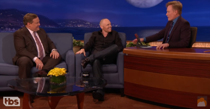 Bill Burr talking about how to save the environment had Conan in stitches