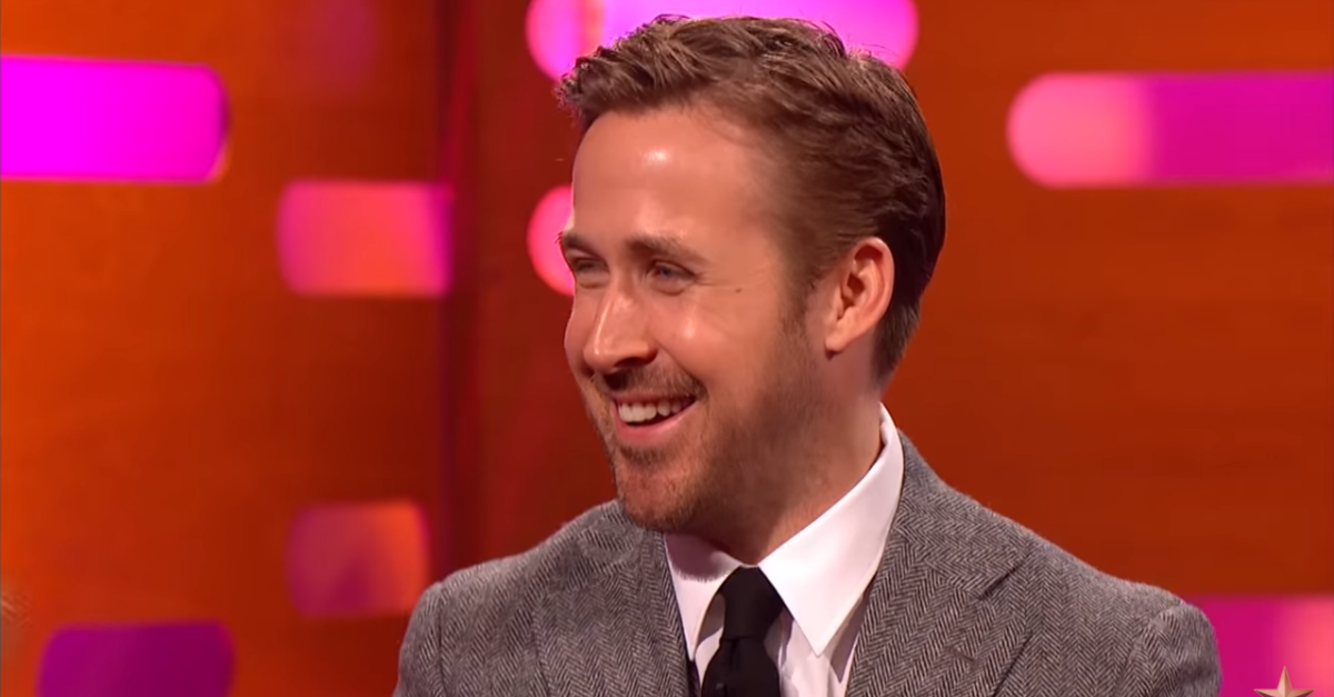 Graham Norton dug up some ridiculous videos of a young Ryan Gosling dancing, and the star went bright red