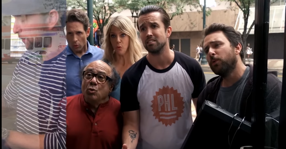 "This behind-the-scenes look at ""It's Always Sunny in Philadelphia"" shows that the gang has some serious pipes"