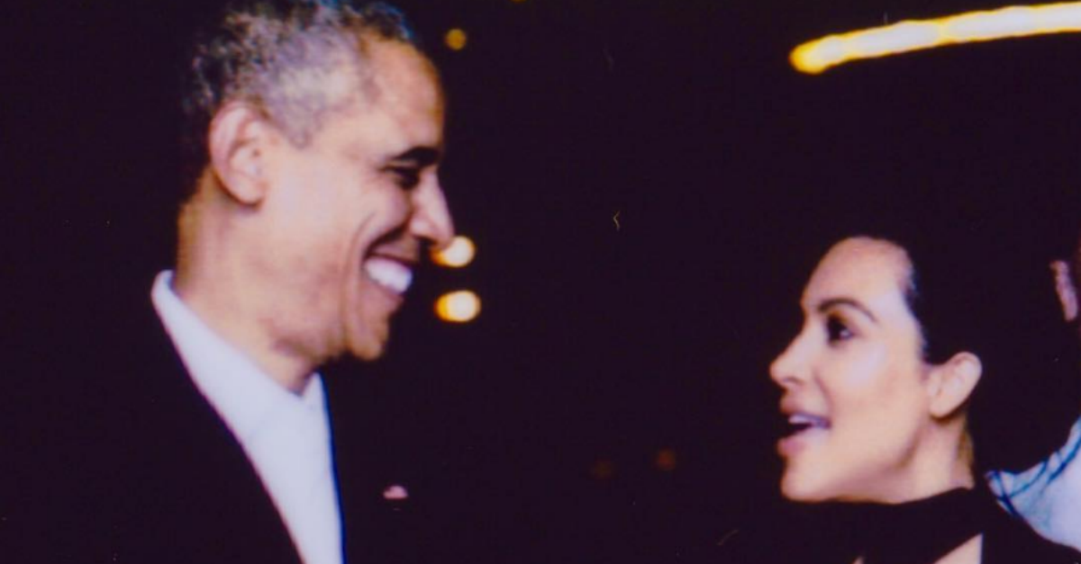 Kim Kardashian West says a final goodbye to the Obamas