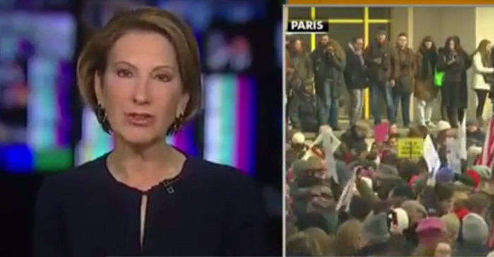 Carly Fiorina denounces Women's March and organizers for banning pro-lifers