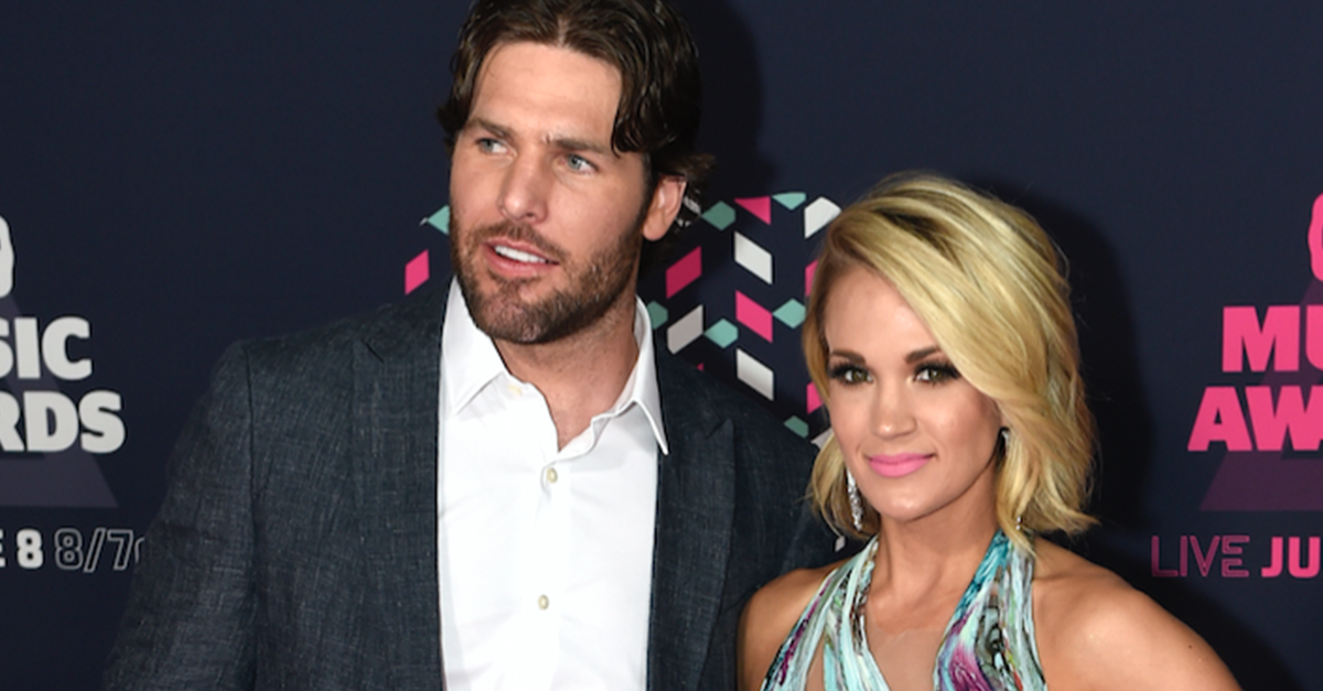 Carrie Underwood shares her pride for her hubby, Mike Fisher