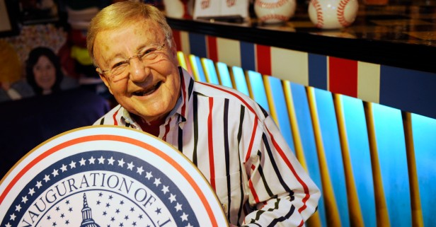 """""""Heartbroken"""" legendary inauguration announcer Charlie Brotman was suddenly replaced for Trump's big day"""