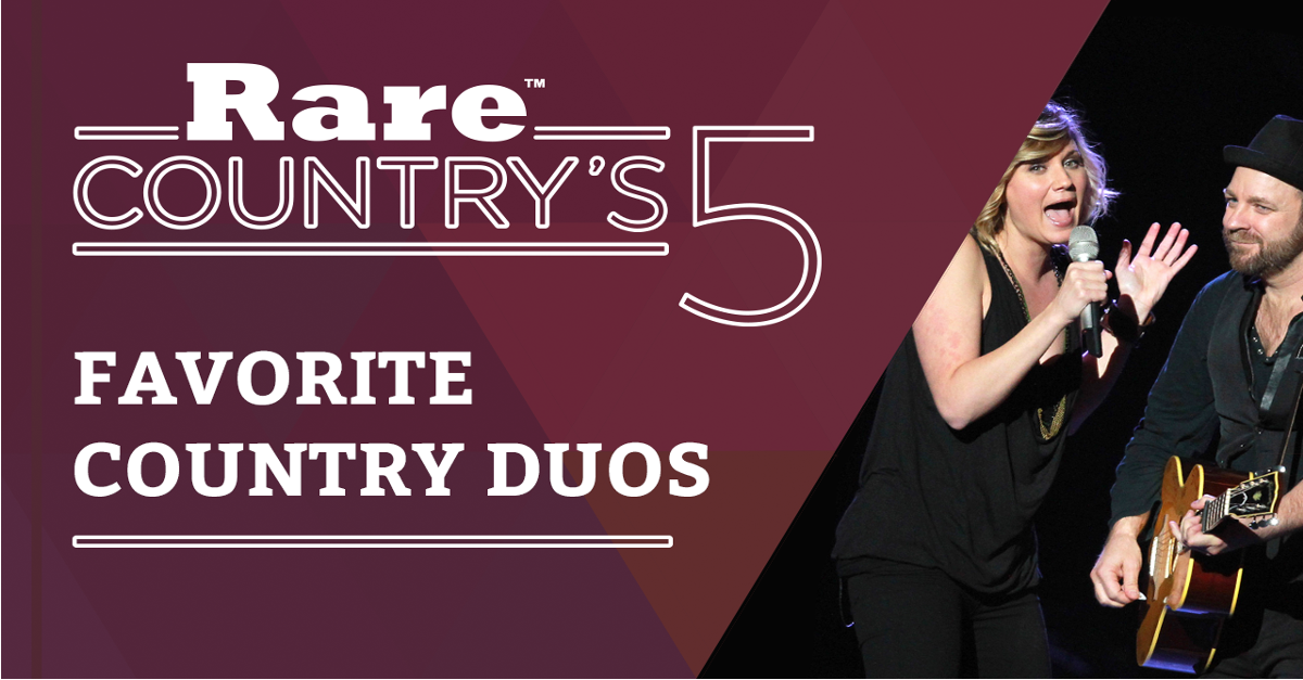 You get two for the price of one with these country music duos