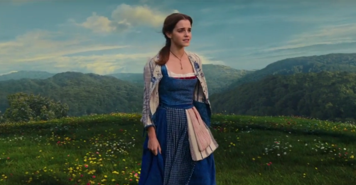 """Emma Watson shows off her beautiful voice in this spot for """"Beauty and the Beast"""""""