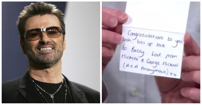 A woman has come forward with claims that the late George Michael gave her the greatest gift of all