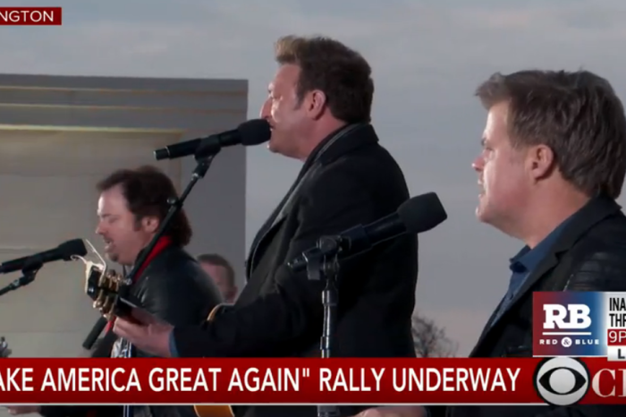 The lead singers of a few of your favorite '90s country bands just teamed up for Trump