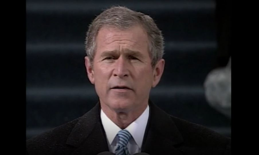 Looking back at George W. Bush's 2001 inaugural address