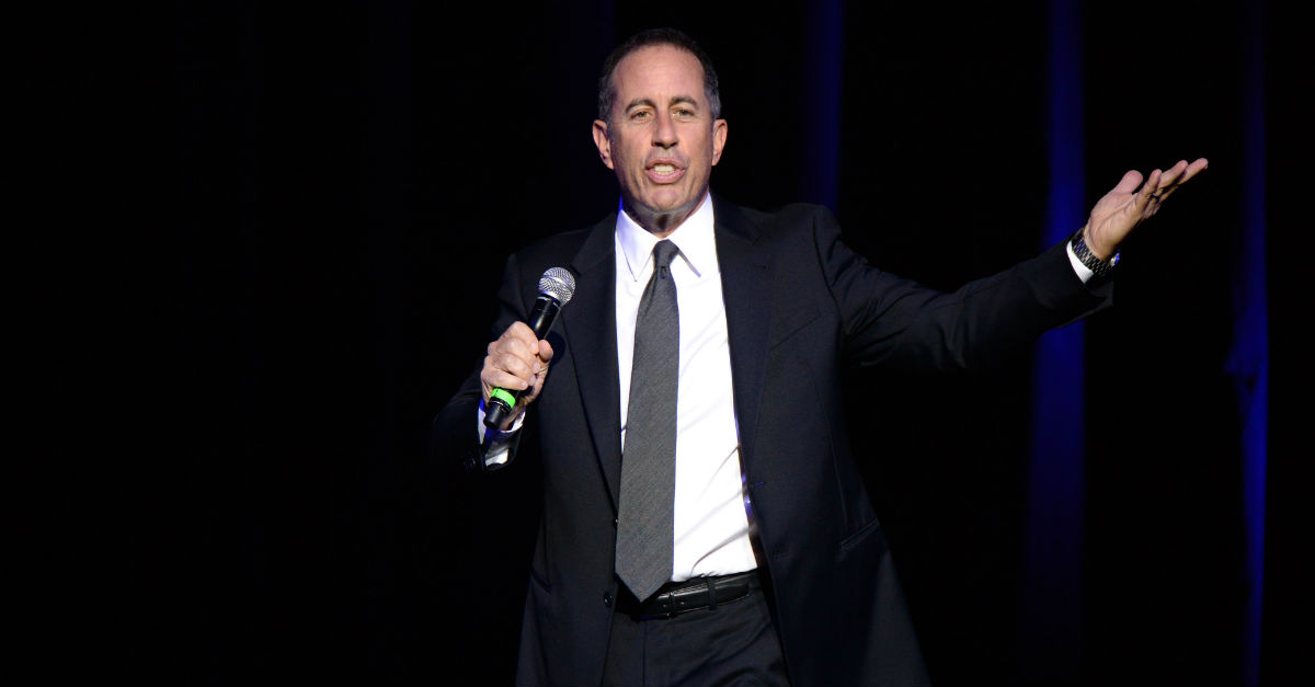 """Jerry Seinfeld is getting ripped across the web for, what one Twitter user called, """"the worst f***ing tweet"""" he's ever seen"""