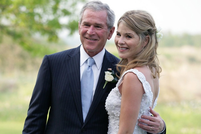 Amid political chaos, Jenna Bush Hagar cites one of George W. Bush's speeches about America