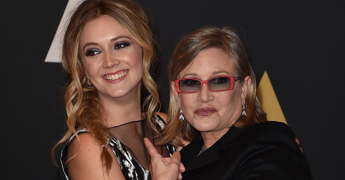 Billie Lourd pens a moving acceptance speech for mom Carrie Fisher's Disney Legends Award