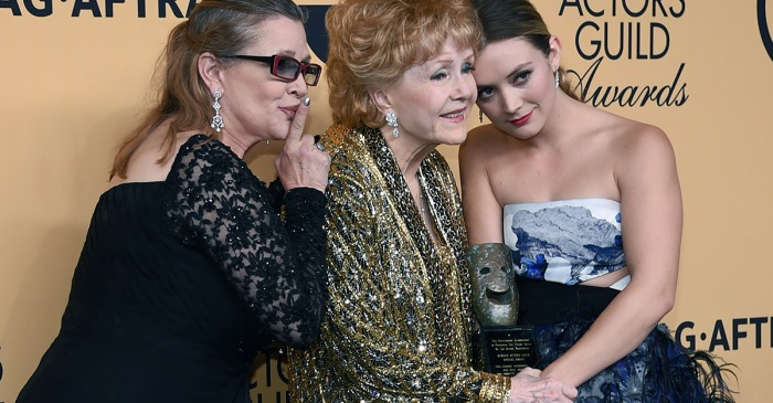 Billie Lourd opens up about becoming her own person in the wake of Carrie Fisher and Debbie Reynolds' deaths