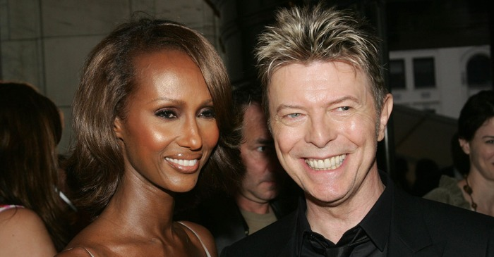 Iman opens up about how the public helped her deal with husband David Bowie's death
