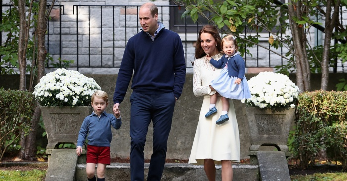 Duchess Catherine is feeling so much better, she's now taking Prince George to school