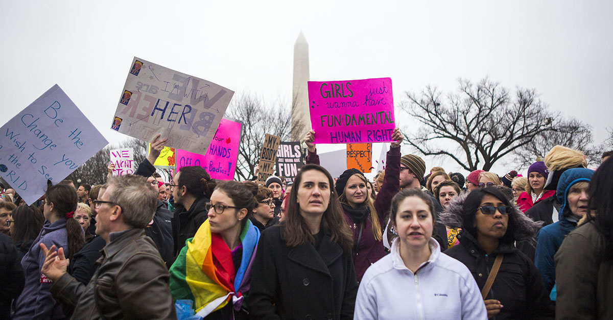 Final counts are in — here's how many were arrested at Saturday's Women's March in Washington