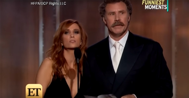 The recent Golden Globes got serious political press, but this montage highlights the awards' best jokes