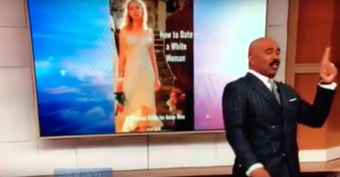 Steve Harvey is hot water for his jokes about Asian men — the internet lost its mind