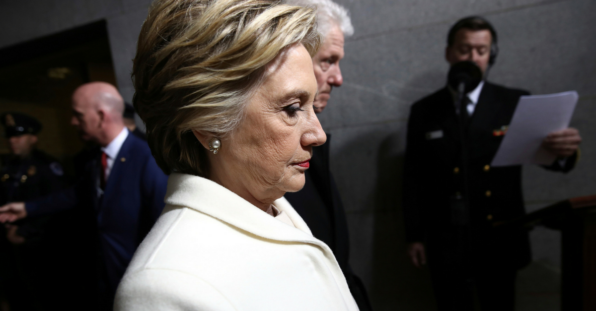 Hillary Clinton wants us to find no parallels between Bill Clinton and Harvey Weinstein