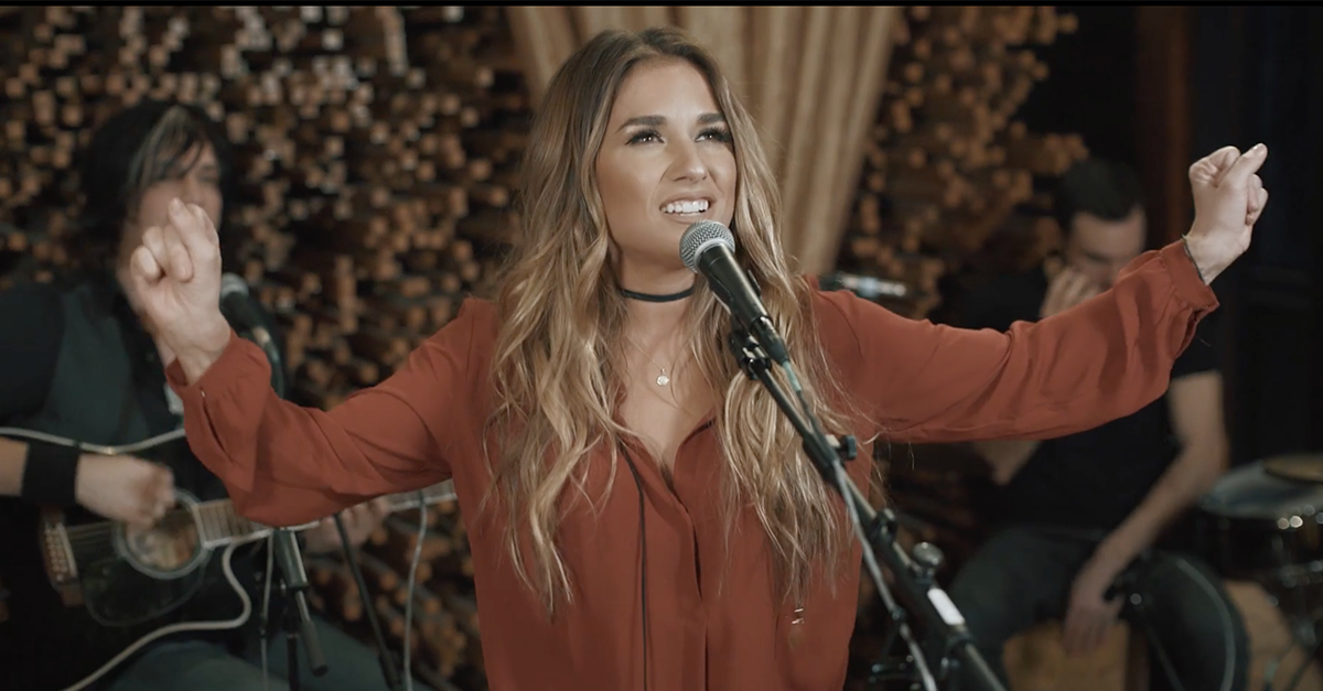Watch this country star strip it down in this raw and heartfelt performance