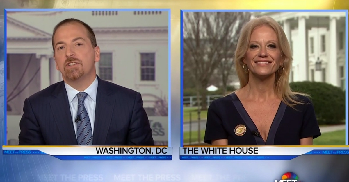 """Kellyanne Conway defends Trump's inauguration: Presidents """"aren't judged by crowd size"""""""