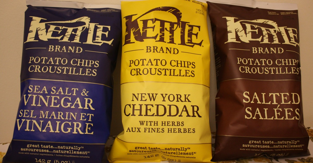 These popular potato chip brands have ungodly amounts of calories