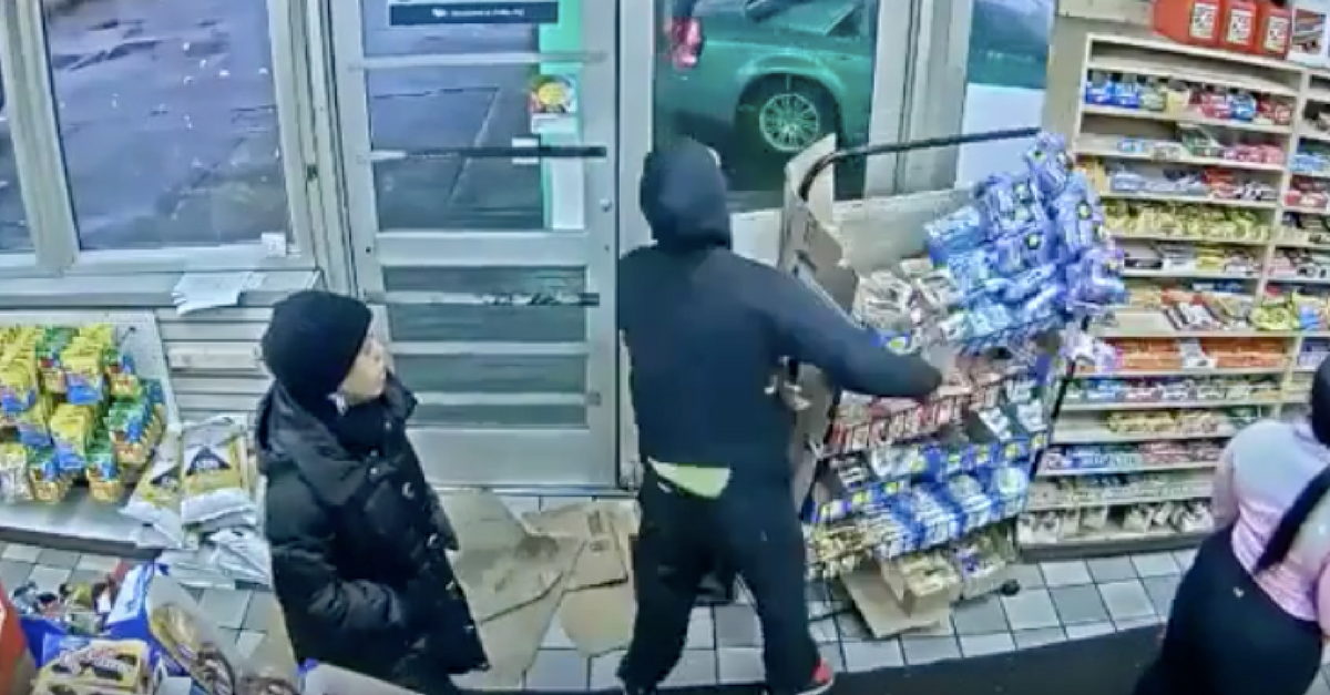 A Michigan man asked for free stuff from a convenience store, and when he was told no, mayhem followed