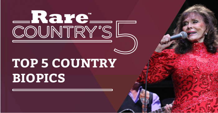Pop some popcorn, grab a drink and check out our 5 favorite country biopics
