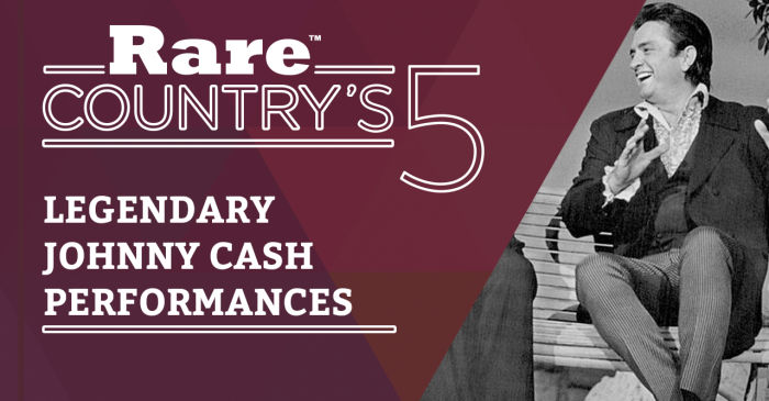 These five Johnny Cash performances are a country music history lesson