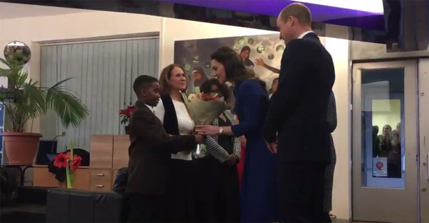 Royal compassion: Prince William and Kate Middleton show kids who've lost loved ones that they're not alone