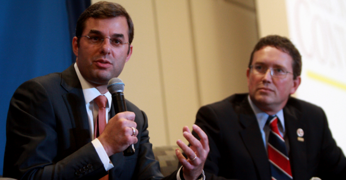 Rep. Justin Amash leads a bipartisan group who want to block the Saudi arms deal
