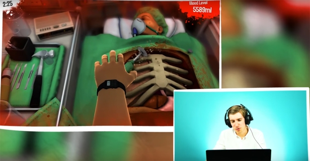 A bunch of surgeons tried out a surgery video game, and we hope it doesn't reflect their real-life skills