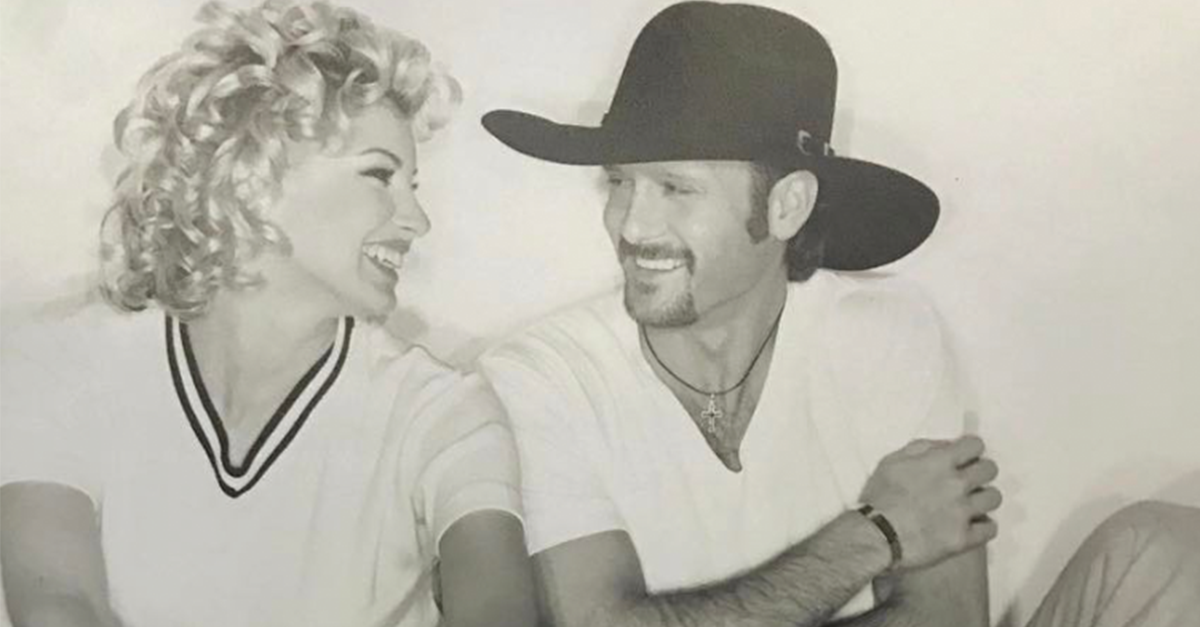 See Tim McGraw and Faith Hill's love story come to life before your very eyes.