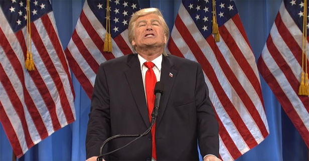 """SNL"" seizes a golden opportunity with Alec Baldwin's Donald Trump"