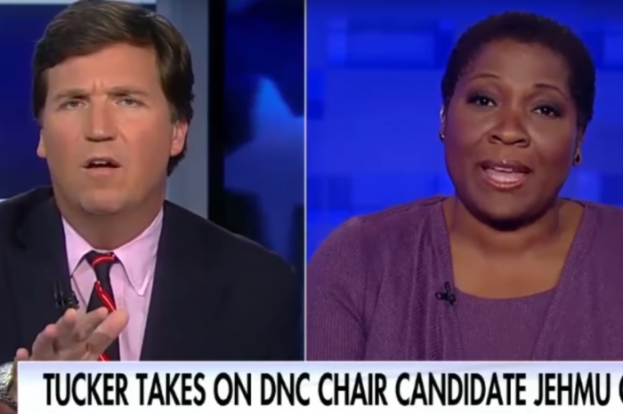 Tucker Carlson kept driving his interview with this DNC chair candidate back to race and she wasn't having it