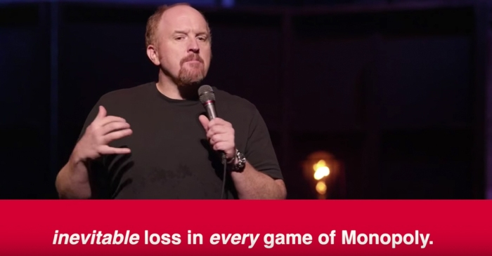 Someone broke down how Louis C.K. constructs a joke and it'll have you looking at comedy in a new way