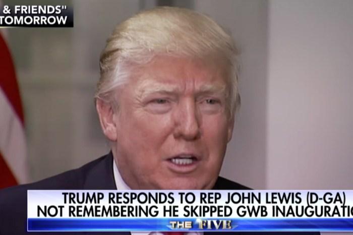 "Donald Trump reveals how he believes Rep. John Lewis made himself ""look bad"""