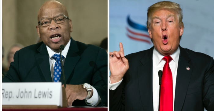 People are coming out of the woodwork to defend John Lewis after Trump criticized him