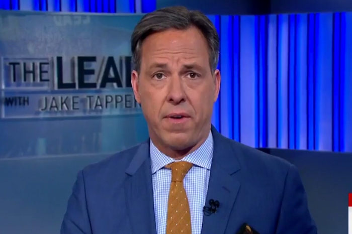 Jake Tapper ripped President Trump's first 100 days apart in just a matter of minutes