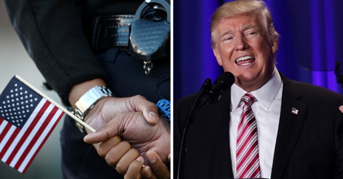 Did Donald Trump insult the boys in blue? One East Coast mayor is convinced that he did
