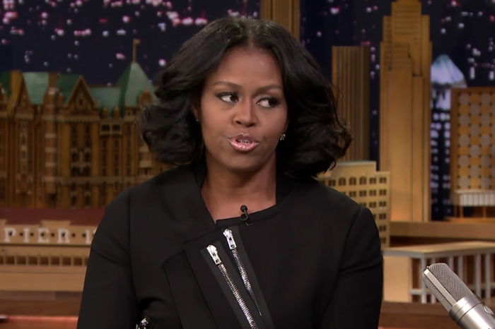 Michelle Obama chokes up in her final late-night appearance as first lady